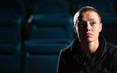 """Thug"" Rose Namajunas has arrived in the app"